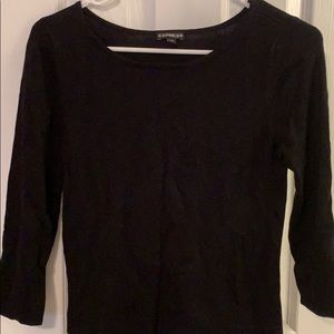 Express 3/4 length sleeve sweater